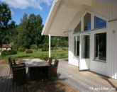 Newly built house on idyllic Rossö island for rent