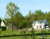Flat on horse farm on northern Gotland with  view over Fardume Lake