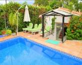 3 Bdr/3 Bath Detached Villa 80mtr to Sea, Own Pool/Garden San Pedro/Puerto Banus