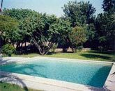 House in Beausejour with large garden with pool and barbecue