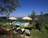 Luxury Villa with Pool and views walking distance Cortona