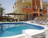 villa apartment with private swimmingpool egypt hurghada