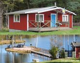 Cottage with sauna by the lake,  Sweden  Fishing