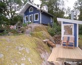 Summerhouse in the archipelago of Stockholm